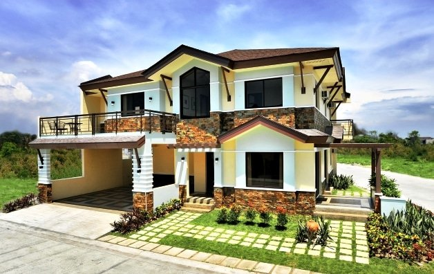 Bela mahogany place 3 single detached house and lot for House color design exterior philippines