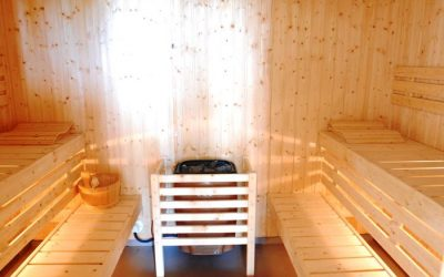 Separate Male and Female Sauna Rooms